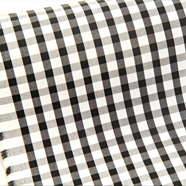 Egyptian Cotton Black & WhiteChecks 2