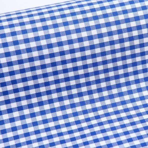 Egyptian Cotton Dark blue Checks 6